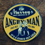 Angry Man Resin Tap Decal