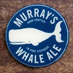 Murray Flexidome Resin Beer Tap Decal
