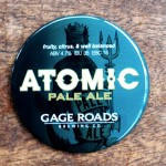 Atomic Flexidome Beer Tap Decal