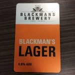 Blackmans Beer Tap Badge