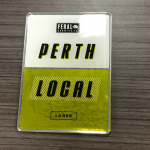 Perth Local Flexidome Resin Beer Tap Decal