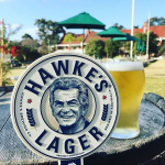 Hawkes Raised Print Tap Decal