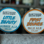 Hawthorn Die Cast Metal Tap Decal Pale ALe