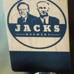 Jacks Timber Beer Tap Decal