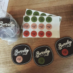 Burnley Brewing Special Finish Tap Decals