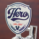 Hero 3D CASTPRINT BEER TAP BADGE